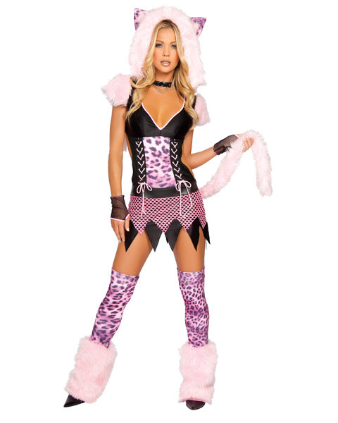 Adult Sexy Naughty Pussycat Costume
