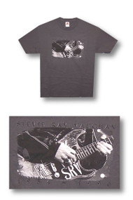 Stevie Ray Vaughn Tribute Mens Tee Shirt