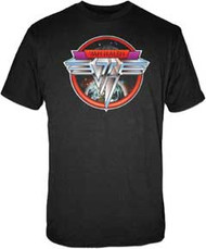 Van Halen Space Logo Mens Tee Shirt