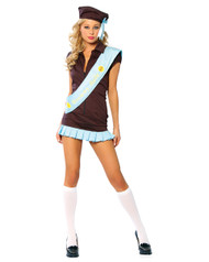 Brownie Babe Sexy Womens Costume