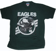 Junk Food Mens NFL Crackle Vintage Philadelphia Eagles Tee Shirt