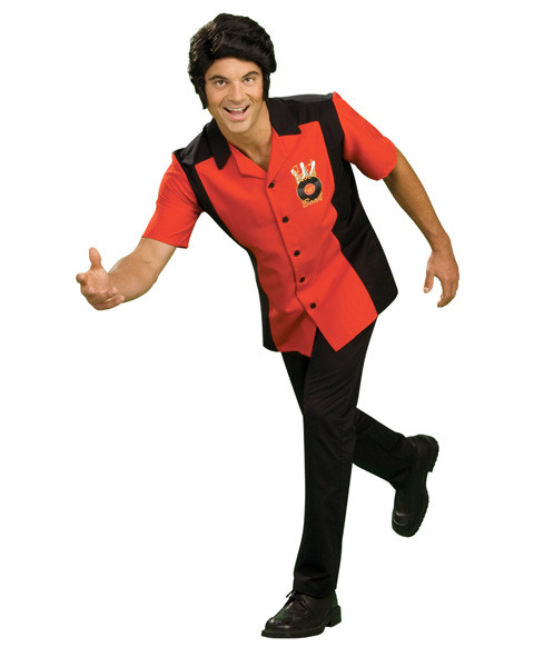 Mens Rock N Bowl Costume