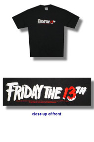 Friday the 13th Ghost Mens Tee Shirt