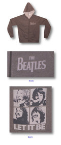 The Beatles Let It Be Womens Zipper Hoodie