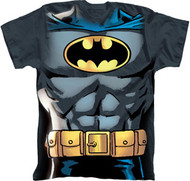 Batman Muscle Costume Adult Tee Shirt