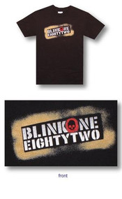 Blink 182 Spray Paint Adult T Shirt
