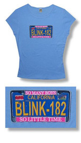 Blink 182 So Many Boys Juniors Tee Shirt