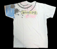 Blink 182 White Mens T-Shirt