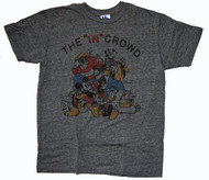 Mens Disney The In Crowd Tri Blend Tee Shirt by Junk Food Clothing