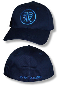 Alicia Keys Blue Logo Navy Cap