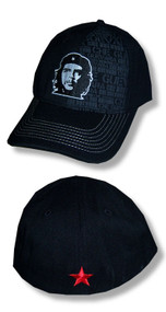 Che Guevara Face Fitted Cap