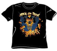 Batman Trick or Treat Pumpkin Burst Boys T-Shirt