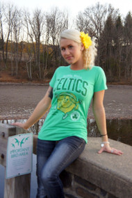 Junk Food NBA Little Miss Sunshine Boston Celtics Womens T Shirt
