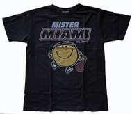 Junk Food Mens NBA Mister Heat Mr Happy Tee Shirt