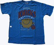 Junk Food Mens NBA Mister Knicks Mr Happy Tee Shirt