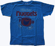 Junk Food Mens NBA Mister Nuggets Mr Happy Tee Shirt