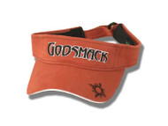 Godsmack Burnt Orange Logo BioDomes Visor
