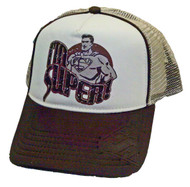 "Superman ""I'm Super!"" Brown Mesh Hat"
