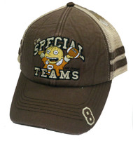 "Simpsons Ralph ""i'm SPECIAL TEAMS"" Brown Mesh Hat"