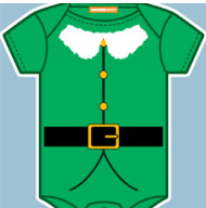 Elf Costume Infant Bodysuit