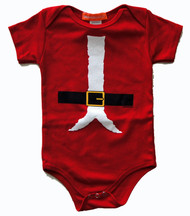 Santa Costume Infant Bodysuit