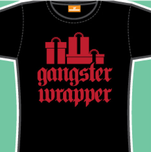 Gangster Wrapper Juniors Tee Shirt