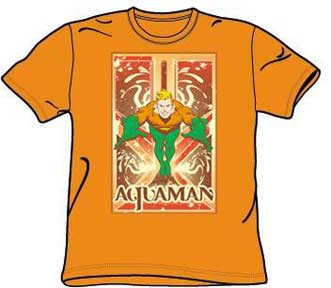Aquaman Mens Tee Shirt from The Big Bang Theory