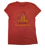 McDonalds You've Got Great Taste Juniors T-Shirt