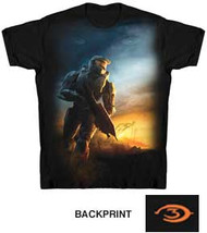 HALO 3 POSTER MENS T SHIRT