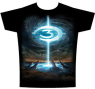 Halo 3 Particle Fountain Mens Tee Shirt