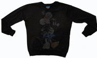 Disney Minnie Mouse Womens Tri Blend Crew Neck Sweatshirt by Junk Food Clothing