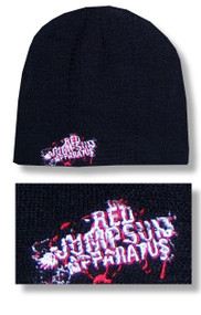 Red Jumpsuit Apparatus Embroidered Logo Beanie