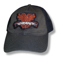 Unearth Crest Patch Truckers Cap