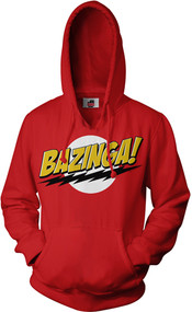 Big Bang Theory Bazinga Adult Hoodie