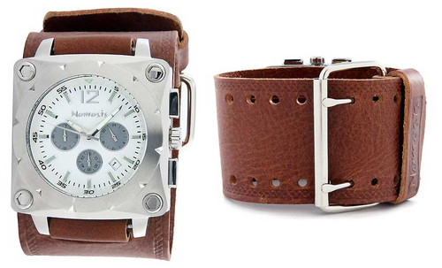 Nemesis Brown SquareFace Watch Water Resistant 50M