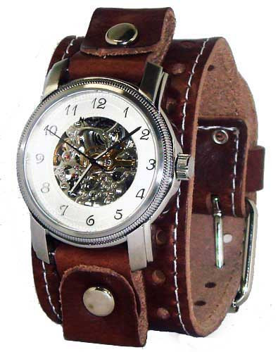 Nemesis Brown Mechanical Self Winding Watch