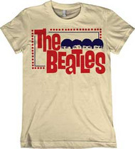 THE BEATLES STARE JUNIORS VINTAGE STYLE TEE SHIRT