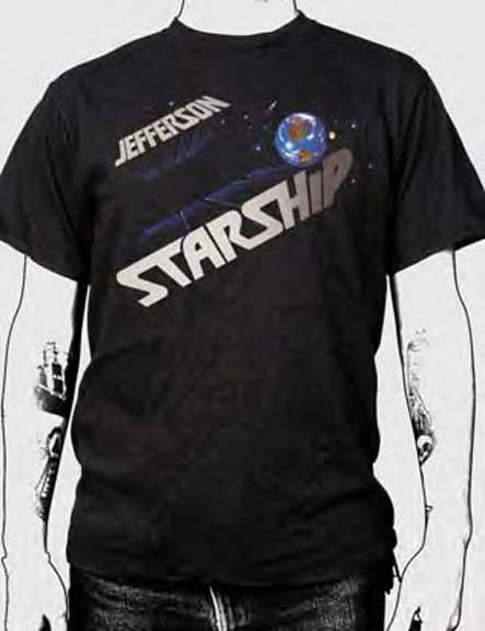 Jefferson Starship Earth Mens Tee Shirt