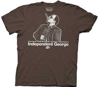 SEINFELD INDEPENDENT GEORGE MENS TEE SHIRT