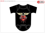 Bon Jovi Heart Infant Snapsuit