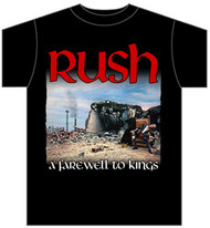 Rush Farewell To Kings Mens Tee Shirt
