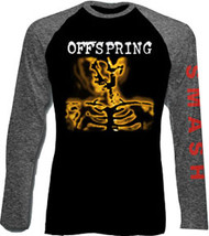 The Offspring Smash Mens Raglan Tee Shirt