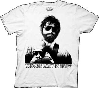 The Hangover Whose Baby Mens Tee Shirt