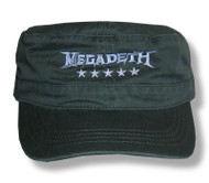 Megadeth Five Star Cadet Cap