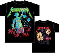 Metallica Justice Mens T-Shirt