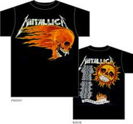 Metallica Flaming Sun  Mens T-Shirt