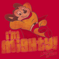 MIGHTY MOUSE IM MIGHTY MENS TEE SHIRT