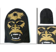 Big Foot Mens Black Ski Mask