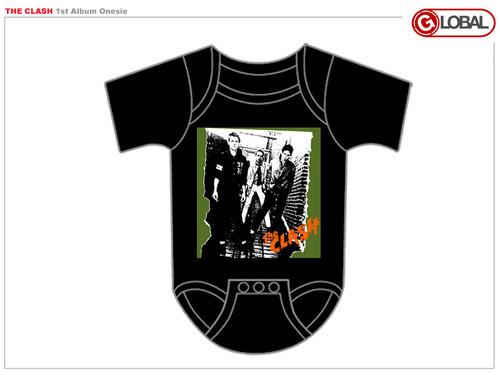 The Clash First Album Infant Snapsuit