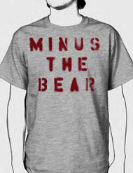 Minus The Bear Stencil Mens Tee Shirt